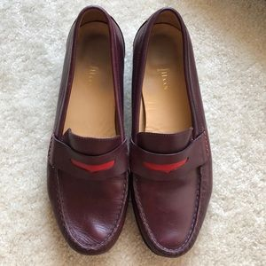 Cole Haan leather Maroon Loafers